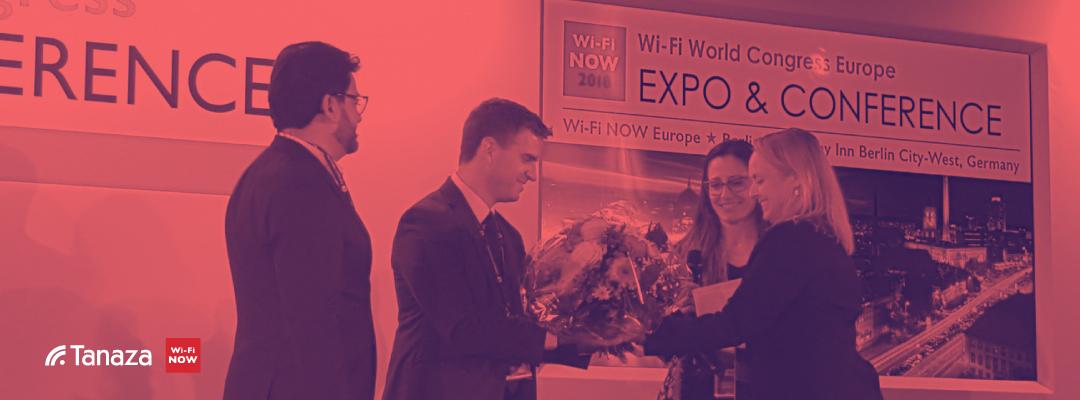 Tanaza remporte le prix WiFi-Now de la meilleure Startup et de la meilleure Solution pour les Entreprises
