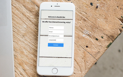Raccogli numeri di telefono verificati attraverso la tua rete WiFi