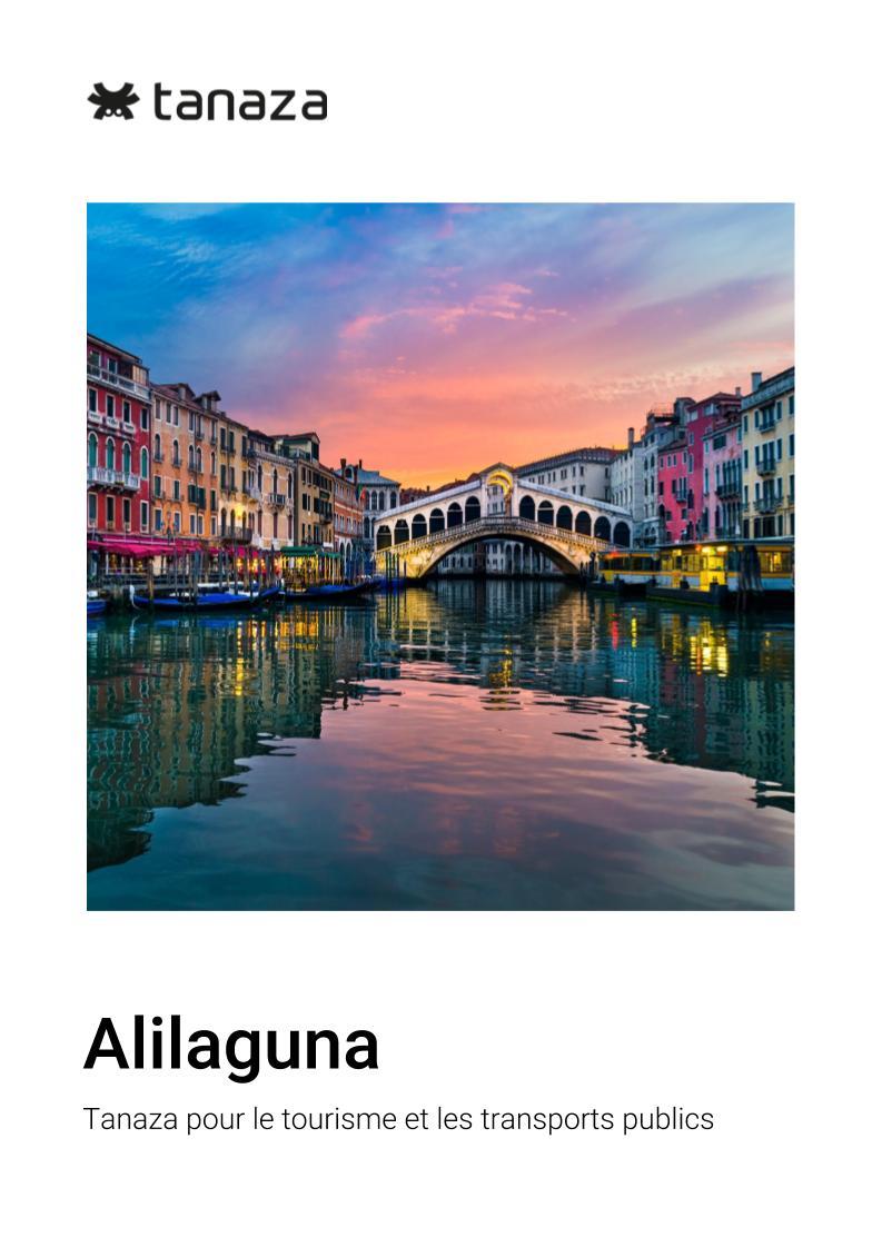 Alilaguna FRA - Tanaza pour le tourisme et les transports publics