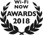 Wi-Fi NOW Awards 2018 logo - Tanaza awarded as Best Enterprise Wi-Fi solution