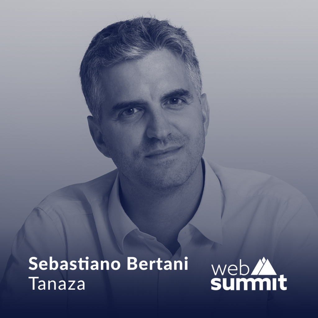 Sebastiano Bertani, will present a leadership keynote at Web Summit 2019
